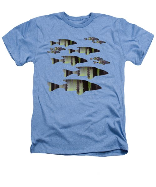 Green Fish Heathers T-Shirt