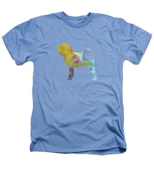 Griffon Belge In Watercolor Heathers T-Shirt