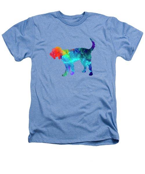 Griffon Nivernais In Watercolor Heathers T-Shirt by Pablo Romero