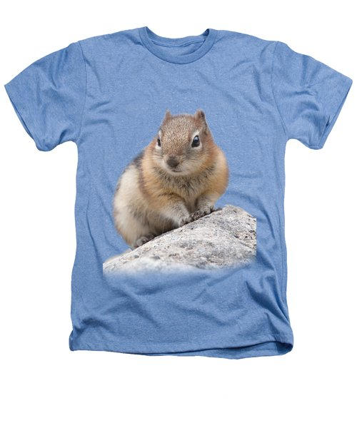 Ground Squirrel T-shirt Heathers T-Shirt by Tony Mills