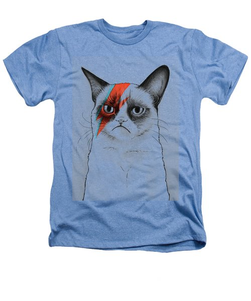 Grumpy Cat Portrait Heathers T-Shirt