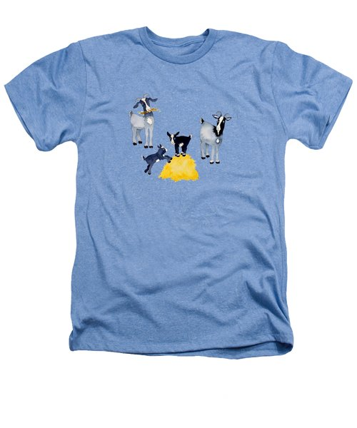 Happy Goats Heathers T-Shirt
