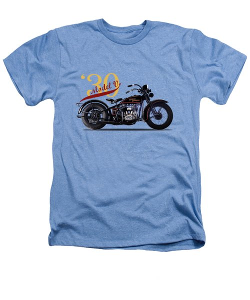 Harley-davidson Model V 1930 Heathers T-Shirt by Mark Rogan