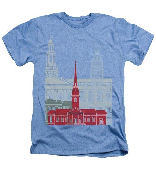 Harvard Skyline Poster Heathers T-Shirt
