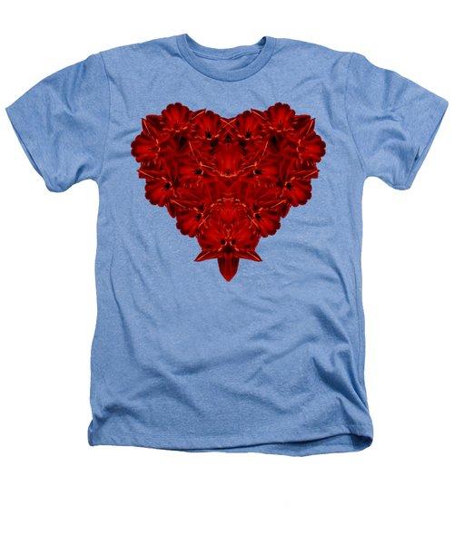 Heart Of Flowers T-shirt Heathers T-Shirt