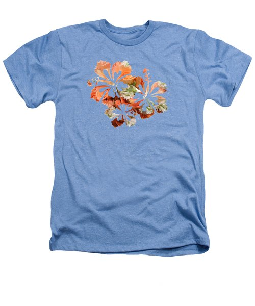 Hibiscus Flowers Heathers T-Shirt by Art Spectrum