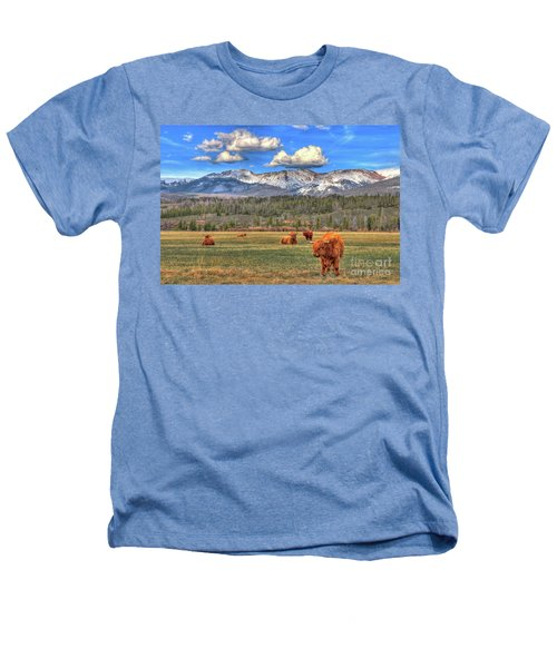 Highland Colorado Heathers T-Shirt by Scott Mahon