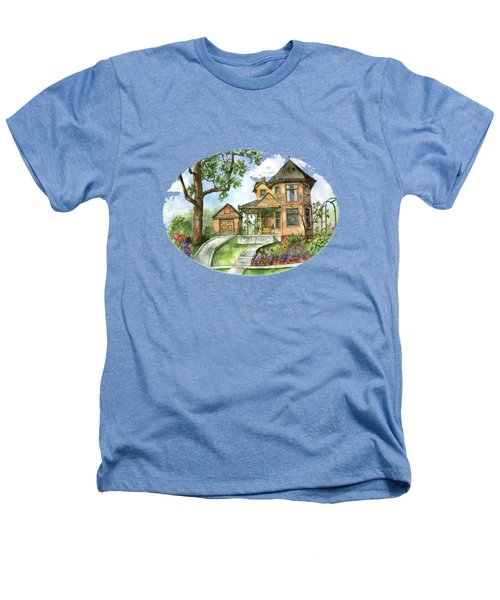 Hilltop Home Heathers T-Shirt by Shelley Wallace Ylst