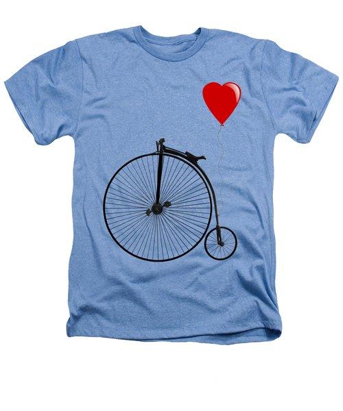 I Love Cycling Heathers T-Shirt