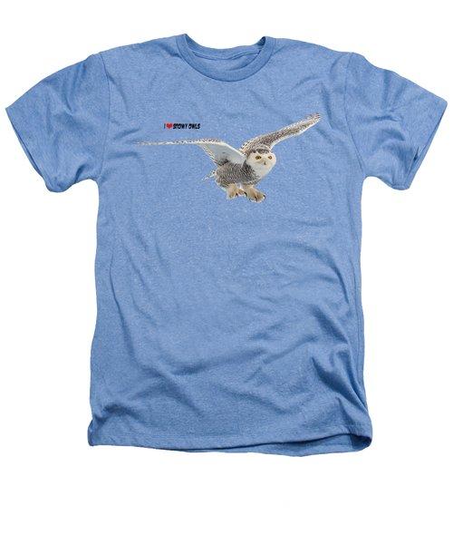 I Love Snowy Owls T-shirt Heathers T-Shirt
