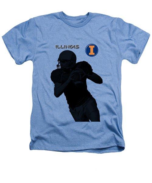 Illinois Football Heathers T-Shirt