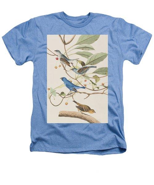 Indigo Bird Heathers T-Shirt