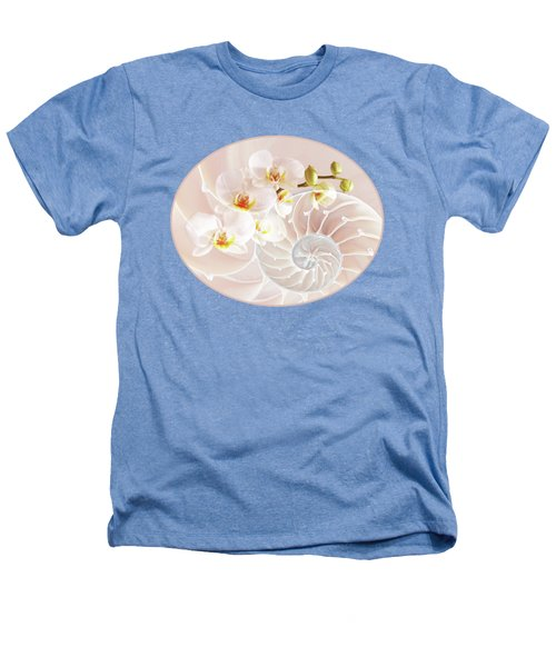 Intimate Fusion In Soft Pink Heathers T-Shirt by Gill Billington