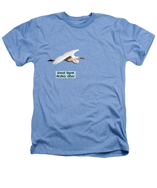 Isolated Great Egret 2018-1 Heathers T-Shirt