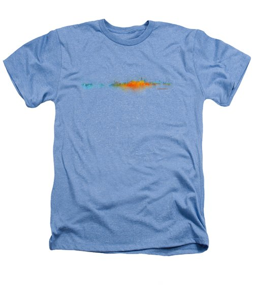 Istanbul City Skyline Hq V03 Heathers T-Shirt by HQ Photo
