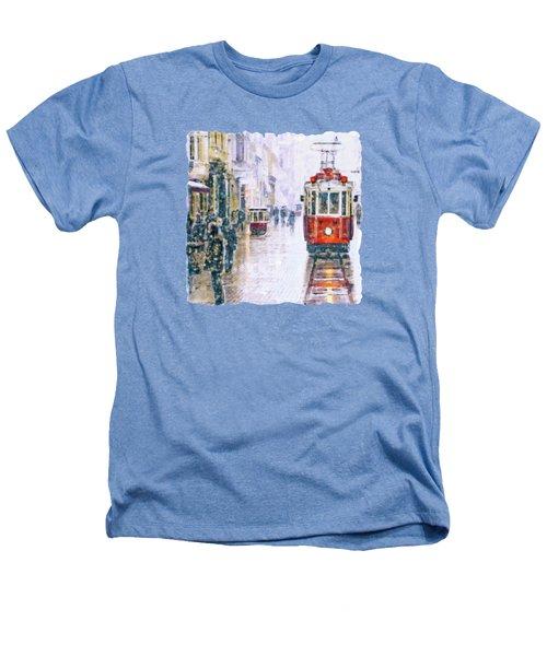 Istanbul Nostalgic Tramway Heathers T-Shirt