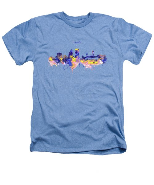 Jacksonville Skyline Silhouette Heathers T-Shirt