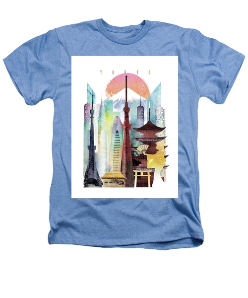 Japan Tokyo Heathers T-Shirt by Unique Drawing