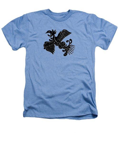Phoenix Tee Shirt 3 Heathers T-Shirt by Nathan Beardsley