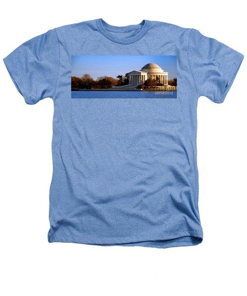 Jefferson Memorial Sunset Heathers T-Shirt