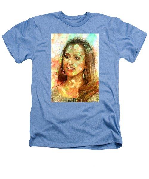 Jessica Alba Heathers T-Shirt by Elena Kosvincheva