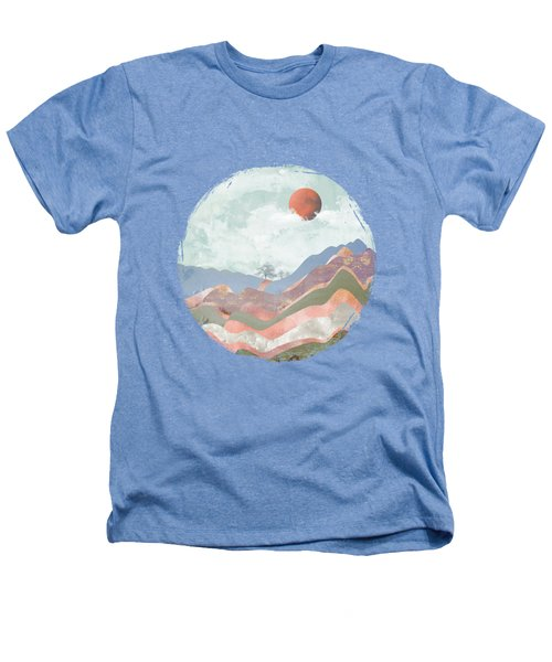 Journey To The Clouds Heathers T-Shirt by Katherine Smit
