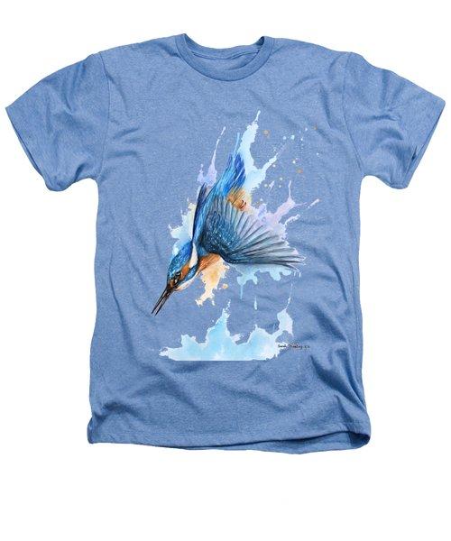 Kingfisher Diving Heathers T-Shirt