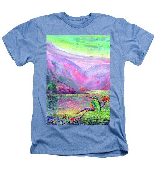 Kingfisher, Shimmering Streams Heathers T-Shirt