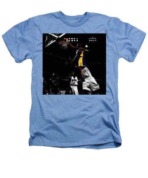 Kobe Bryant On Top Of Dwight Howard Heathers T-Shirt