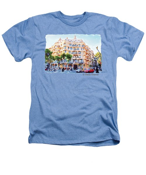 La Pedrera Barcelona Heathers T-Shirt by Marian Voicu