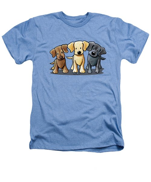 Labrador Beach Trio Heathers T-Shirt
