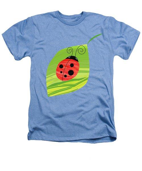 Ladybug On Leaf Heathers T-Shirt