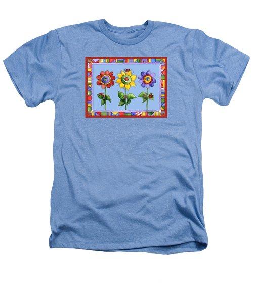Ladybug Trio Heathers T-Shirt