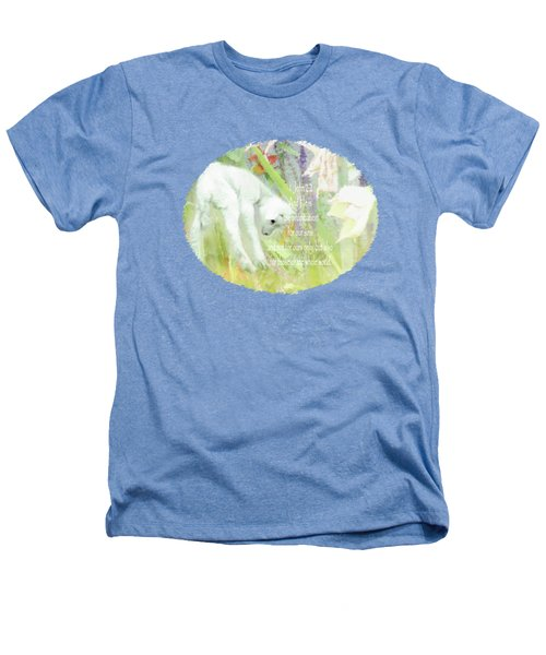 Lamb And Lilies - Verse Heathers T-Shirt