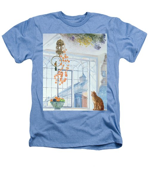 Lanterns Heathers T-Shirt by Timothy Easton