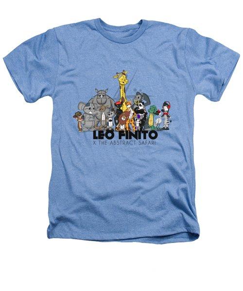 Leo Finito And The Abstract Safari Heathers T-Shirt