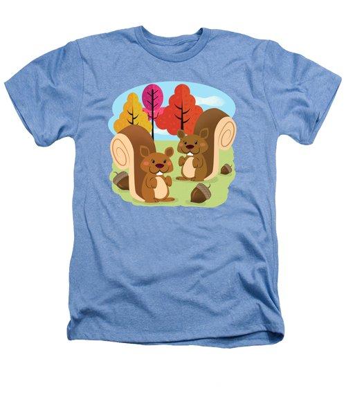 Let The Acorns Fall Heathers T-Shirt
