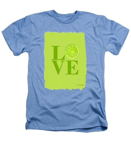 Lime Heathers T-Shirt