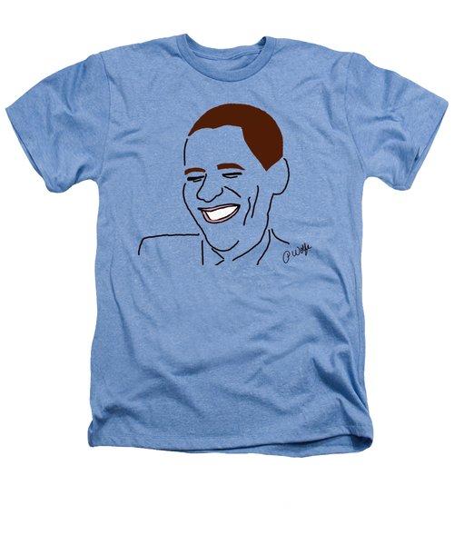 Line Art Man Heathers T-Shirt