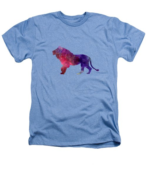 Lion 01 In Watercolor Heathers T-Shirt
