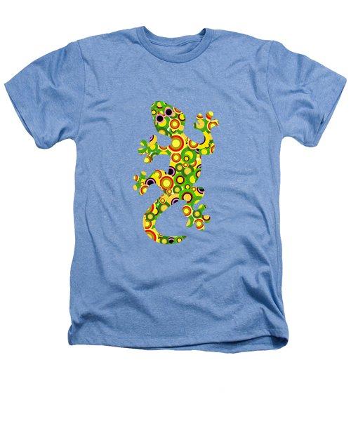 Little Lizard - Animal Art Heathers T-Shirt by Anastasiya Malakhova
