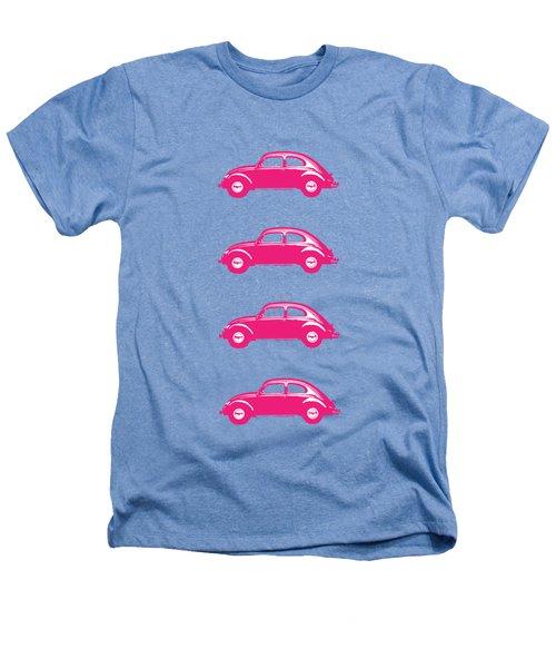 Little Pink Beetles Heathers T-Shirt