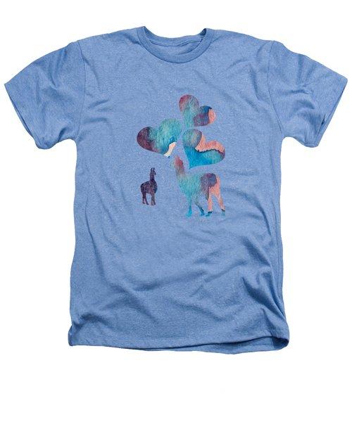 Llama Art Heathers T-Shirt
