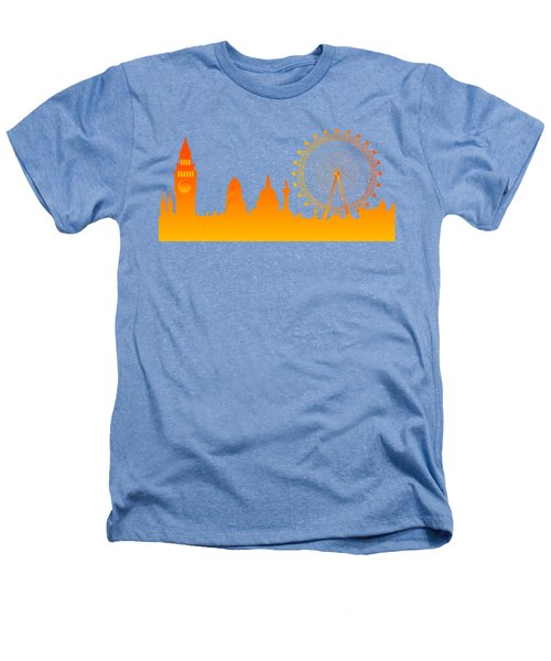 London City Skyline Heathers T-Shirt