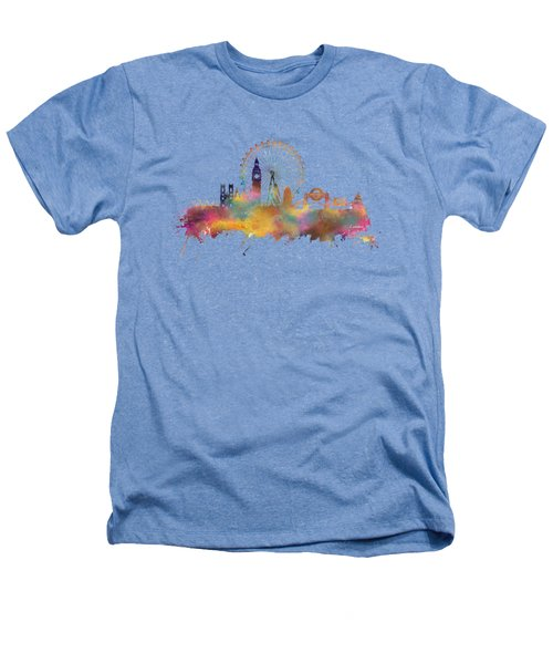 London Skyline Heathers T-Shirt by Justyna JBJart