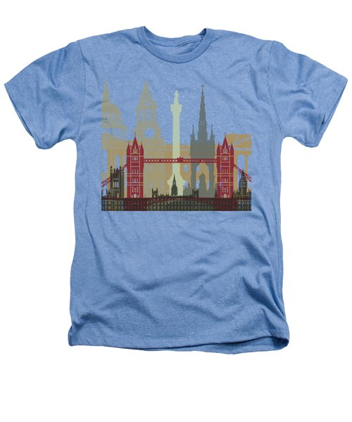 London Skyline Poster Heathers T-Shirt by Pablo Romero