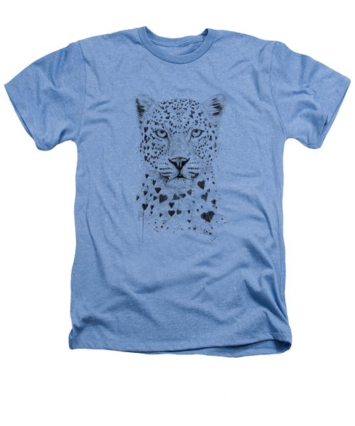 Lovely Leopard Heathers T-Shirt by Balazs Solti