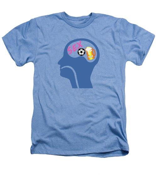Male Psyche Heathers T-Shirt by Gaspar Avila