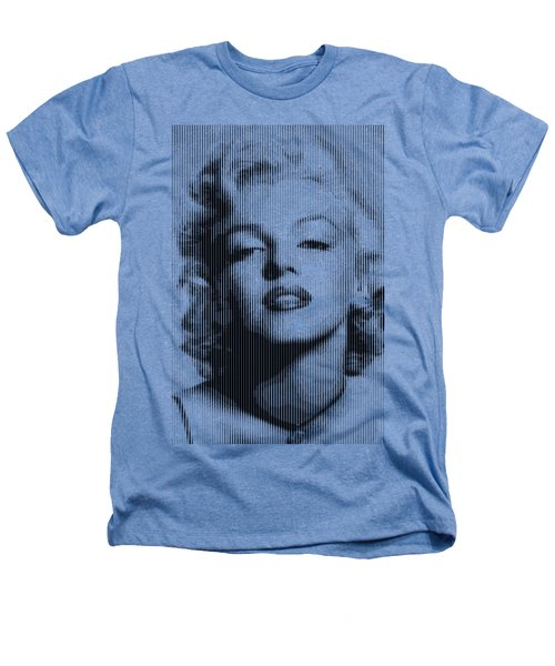 Marilyn Monroe - Bw Verticals  Heathers T-Shirt