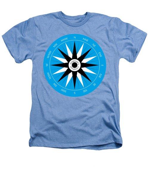 Mariner's Compass Heathers T-Shirt by Frank Tschakert